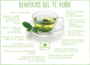 bneficios para la salud del té verde