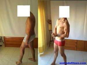 perder peso, ganar músculo, tener abdominales, transformación física