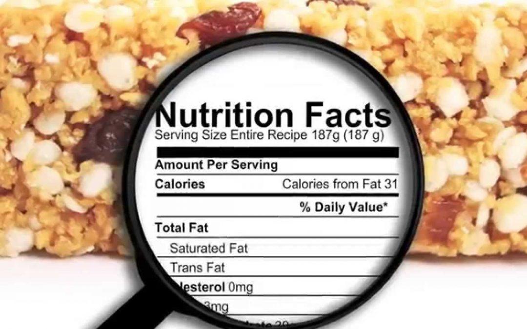 ¿Cómo Leer Etiquetas Nutricionales de los Alimentos?